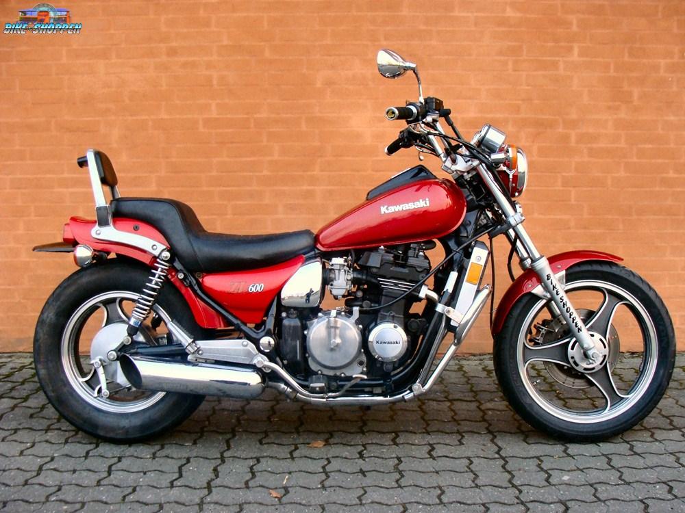 1986 Kawasaki Eliminator 600 ZL600