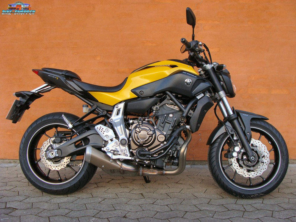 yamaha mt07 yellow race. Black Bedroom Furniture Sets. Home Design Ideas
