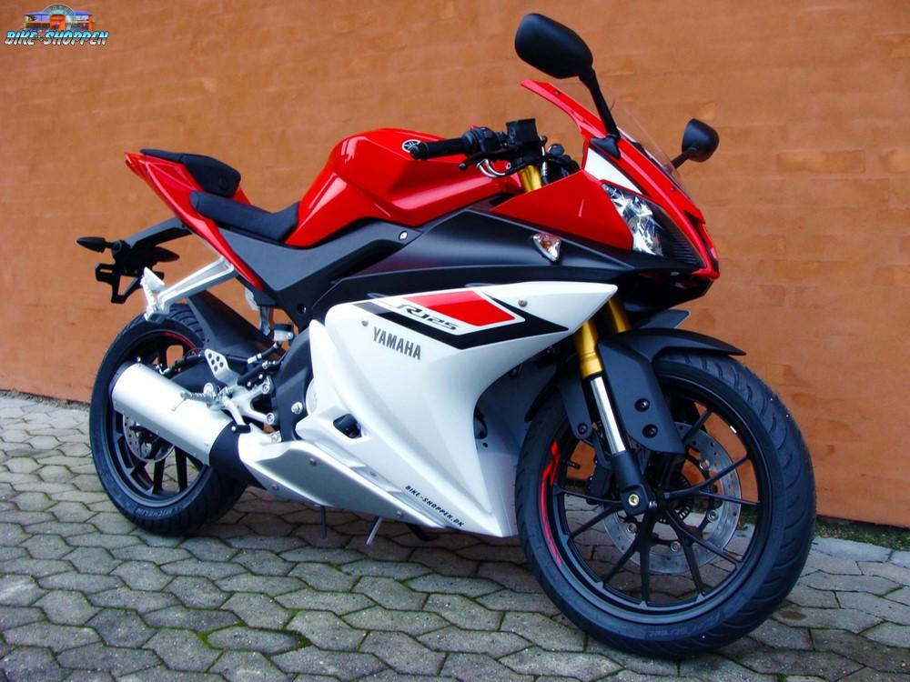 Yamaha yzf r 125 r d hvid for Yamaha 125 l